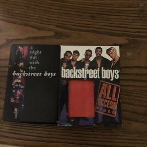 2 Backstreet Boys VHS for Sale in Norton, MA