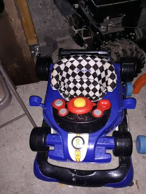 Race car Walker, paw patrol booster seat and walking toy for Sale in Brockton, MA