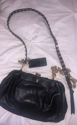 Guess Genuine Leather Clutch or Messenger Bag for Sale in Las Vegas, NV