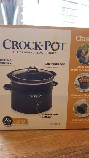 2QT Crock Pot for Sale in St. Petersburg, FL