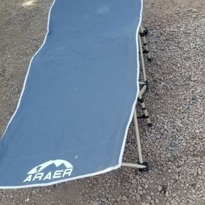 Camping cot 450lb Max Load Portable foldable Brand new With Carrying Bag $50 for Sale in Phoenix, AZ
