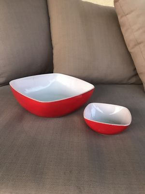 Pyrex chips and dip set. Red square. Fourth of July colors! for Sale in El Cajon, CA