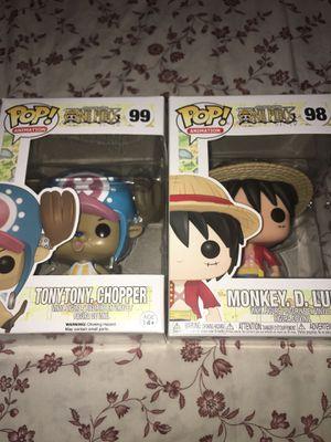 Tony Tony. Chopped Monkey. D. Luffy One Piece Funko pop 98 99 for Sale in Norwalk, CA