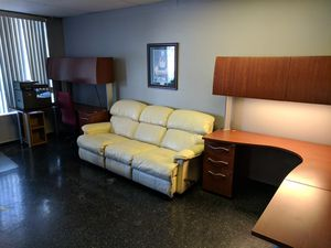 Corner Desk Pair & Printer Stand for Sale in Roseville, MI