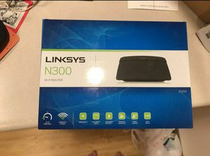 Link sys N300 wifi router for Sale in Ames, IA