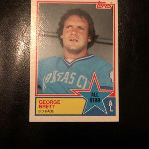 George Brett baseball card 388 for Sale in Mission Viejo, CA