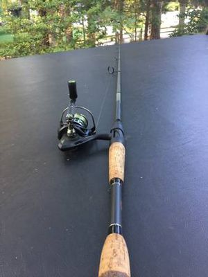 7 ft Lews rod and Ardent spinning reel for Sale in Raleigh, NC