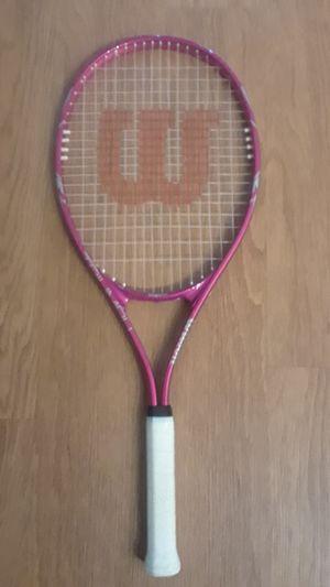Wilson hot pink tennis racket for Sale in Arlington, VA