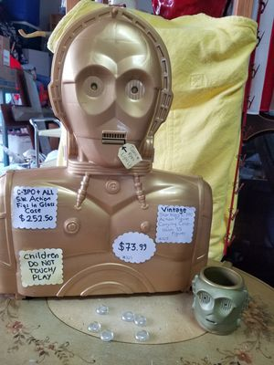 VINTAGE STAR WARS C3PO ACTION FIGURE CARRYING CASE & MUG for Sale in Plant City, FL