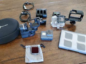 Gopro Hero 5 / Filters/ Gimbal/ Batteries for Sale in Phoenix,  AZ