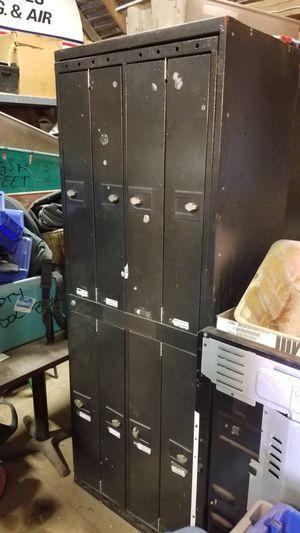Metal lockers 8 spaces. for Sale in Delaware, OH