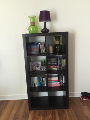New!! bookcase, bookshelves, display case, cube storage, cube espresso color for Sale in Phoenix, AZ