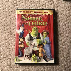 Shrek The Third Dvd Movie for Sale in Murrieta,  CA