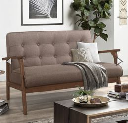 Brand new!Oris Fur. Modern Solid Loveseat Sofa Upholstered Fabric 2-Seat Couch for Sale in Hacienda Heights,  CA