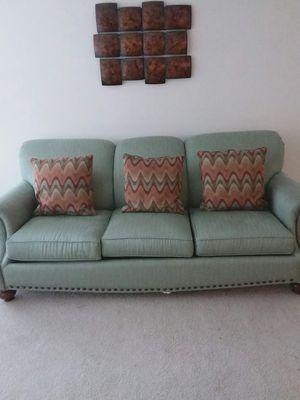Sofa w/pullout Queen Sleeper & Matching Recliner Chair for Sale in Woodbridge, VA