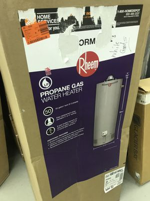 Rheem 50gal water heater propane for Sale in Atlanta, GA