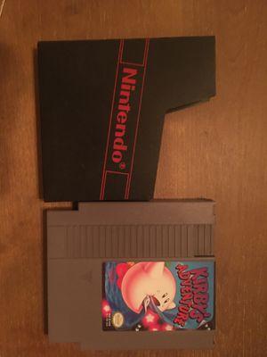 Nintendo nes Kirby's adventure for Sale in Visalia, CA