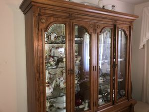 Vintage Thomasville dining room set and China cabinet for Sale in Portland, OR