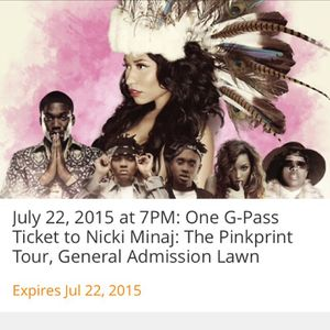 Nicki Minaj concert tickets for Sale in Laurel, MD