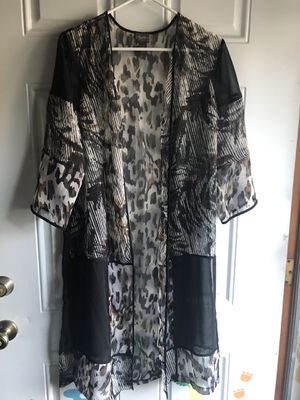 Cardigan cover up for Sale in Delavan, WI