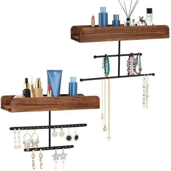 Hanging Jewelry Organizer Shelf