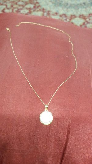 14k gold ANGEL pendant with 14k gold chain for Sale in Springfield, VA