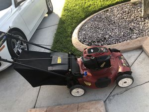 Red toro bull recycler lawn mower in excellent condition power mulcher lawnmowers for Sale in Miramar, FL
