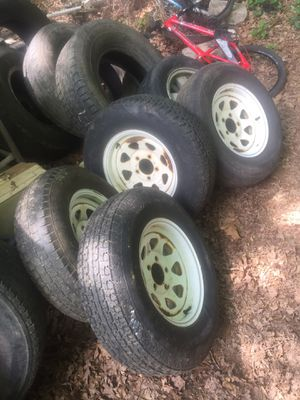 205-74-14 trailer tires and wheels for Sale in Oakboro, NC