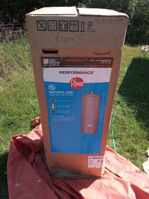 Rheem natural gas water heater 50 gal for Sale in Guthrie, OK