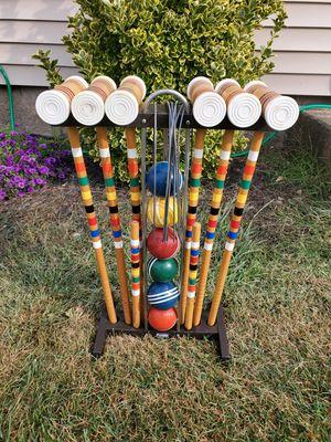 Vintage 6 player croquet set for Sale in Cranston, RI