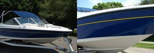 Excellent Condition!! 2OO7 Boat With Trailer !! Bayliner 17Ft BowRider!! for Sale in New Haven, CT