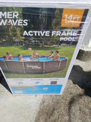 Summer wave 14ft x36in Active Frame .brand new for Sale in Oakland, CA