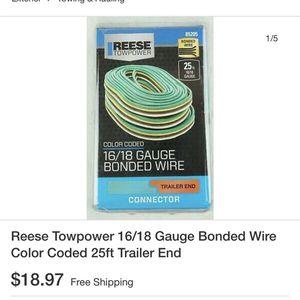 25ft Bonded Trailer Wiring -16/18 Gauge for Sale in Moore, OK