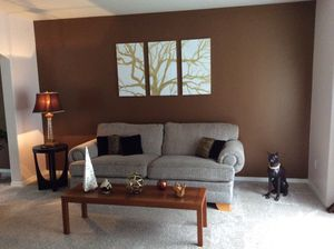 Couch and Living Room Set as Pictured (except for black end table). for Sale in Gig Harbor, WA