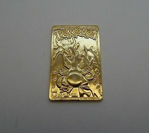1999 Pokemon Charizard 24k Gold Plated Card for Sale in Queens, NY