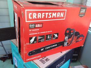 Craftsman gas chainsaw for Sale in New Port Richey, FL