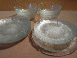Arcoroc France Fleur Glass Dishes for Sale in West Springfield, VA