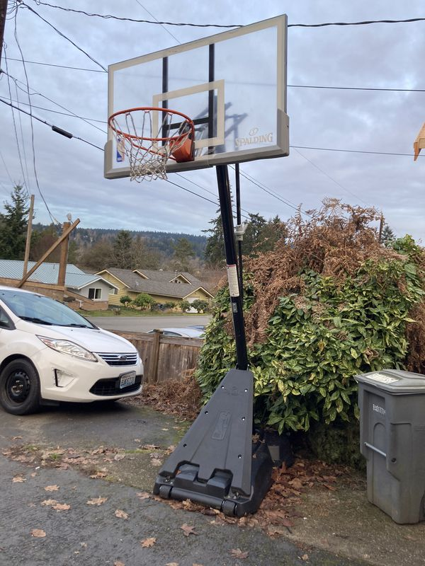 Spalding Basketball Hoop 7.5-10 Feet