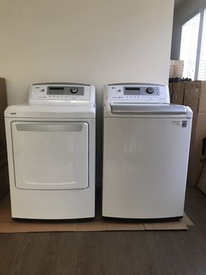Electric LG Energy efficient washer/dryer for Sale in Irvine, CA