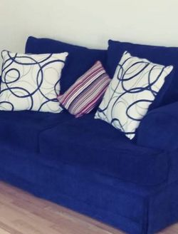 Blue Living Room Couch for Sale in Silver Spring,  MD
