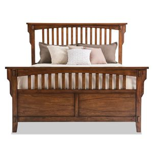 Beautiful Oak Wood Full Size Complete Bed Frame for Sale in Naugatuck, CT