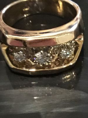 14k gold men's diamond ring vs1 for Sale in Morton Grove, IL