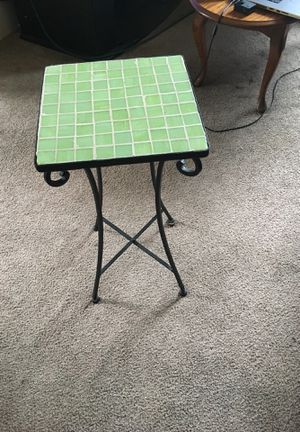 Outdoor garden table for Sale in Roanoke, VA