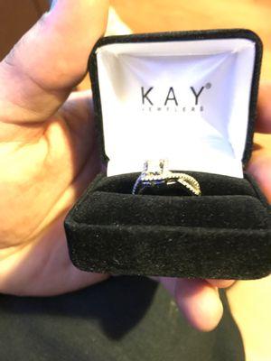 14k white gold Kay jewelers promise ring for Sale in Philadelphia, PA