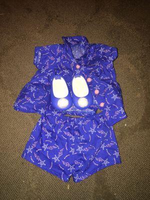 Blue America girl doll pajamas full set for Sale in Alexandria, VA