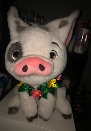 Moana pig teddy bear for Sale in Bronx, NY