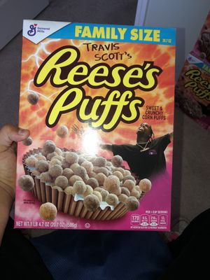 Travis Scott limited edition Reese's puffs for Sale in Arroyo Grande, CA