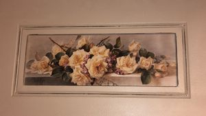 Flower peony painting frame for Sale in VA, US