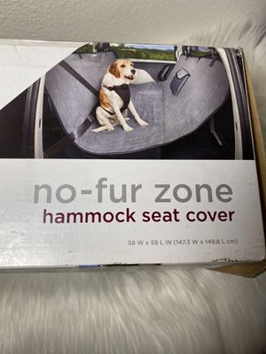 """Good2Go Quilted Hammock Seat Cover for Pets in Gray, 58"""" W x 59"""" L for Sale in El Monte, CA"""