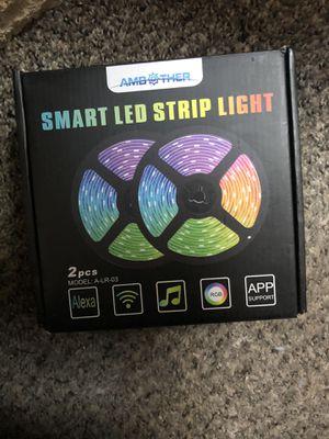 Smart led strip lights for Sale in Belleville, MI